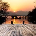Bridge over west lake — Stock Photo #40546355