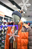 Mannequin displaying latest trend — Stock Photo