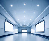 Corridor of modern building — Stock Photo