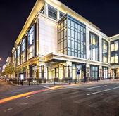Modern şehir gece — Stok fotoğraf