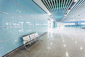 Ground floor hall of office building — Stock Photo
