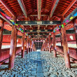 It is traditional Chinese corridor made by wood — Stock Photo #40890937