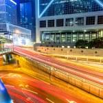Traffic through downtown HongKong — Stock Photo #42228775