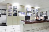 Sala de control de la oficina moderna — Foto de Stock