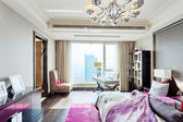 Big modern Bedroom  — Stock Photo