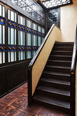 Stairway in modern apartment  — Stock Photo