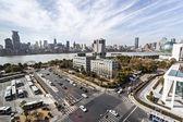 Avenue in modern city  — Stockfoto