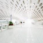 International airport building interior — Stock Photo #43097297