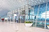 现代机场码头等候室 — 图库照片