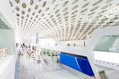 International airport building interior — Photo