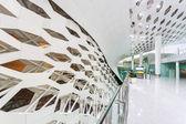 International airport building interior — ストック写真