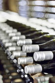Wine cellar full of wine bottles  — Stock Photo