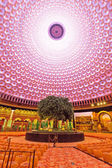 Abstract Ceiling Design in an Oriental Temple — Stock Photo