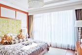 モダンなベッドルーム — ストック写真