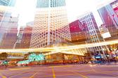 Traffic in modern city  — Stock Photo