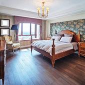 Camera da letto moderna — Foto Stock