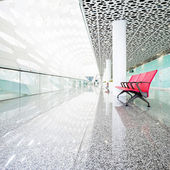 Modern waiting room in the mall — Stock Photo
