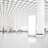 Hall of modern building — Foto Stock