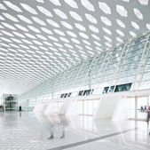 Hall of modern building — Stock Photo