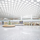 Interior of the modern building — Foto Stock