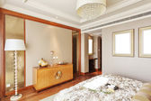 Modern bedroom — Fotografia Stock