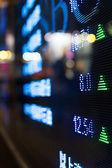 Anzeige der börse zitate — Stockfoto