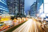 Traffic through downtown HongKong  — ストック写真
