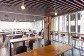 Interiér moderní restaurace — Stock fotografie
