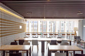 Interior of modern restaurant  — Foto Stock