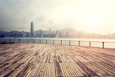 Landscape of modern city ,Hong Kong — Stock Photo
