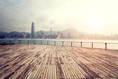 Landscape of modern city ,Hong Kong — Stockfoto