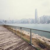 Landscape of modern city — Stock Photo