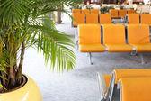 Modern Havaalanı terminal bekleme odası — Stok fotoğraf