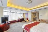 Quarto de luxo em hotel — Fotografia Stock