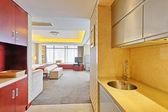 Luxus schlafzimmer im hotel — Stockfoto