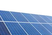 Solar panels isolated on white background.  — Stock Photo