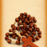 Wooden rosary — Stock Photo #2230053