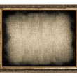 Frame with empty canvas — Stock Photo #25110065