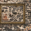 Stock Photo: Gilded wooden frame