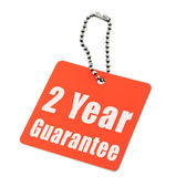 Garantía de dos años — Foto de Stock