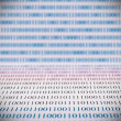 Stock Photo: Abstract binary code