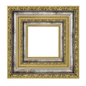 Richly decorated frame — Stock Photo