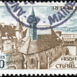 Royalty-Free Stock Photo: Stamp Abbaye de Charlieu