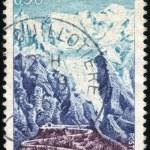 Stamp Chamonix — Stock Photo #12465376