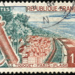 Stock Photo: Stamp Le Touquet Paris Plage