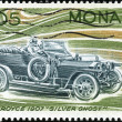 Stamp Rolls Royce 1907 Silver Ghost — Stock Photo
