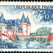 Stamp Sully sur Loire — Stock Photo