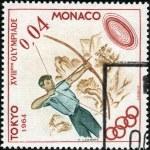 Stamp Tokyo 1964 0,01 — Stock Photo #12465621