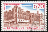Stamp Saint Germain en Laye — Stock Photo