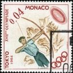 Stamp Tokyo 1964 0,01 — Stock Photo #12478236